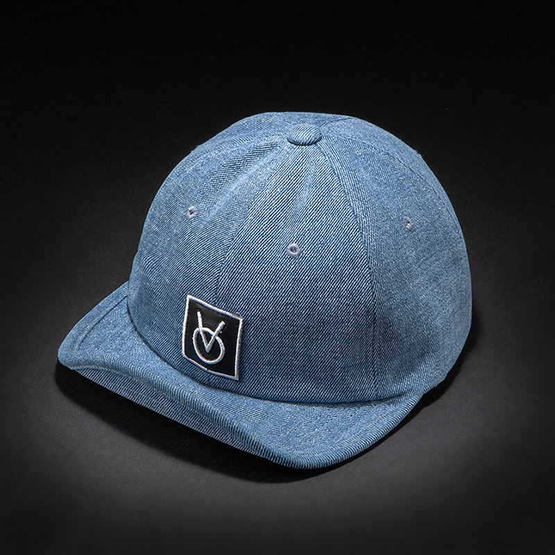 [빈스모크]VINSMOKE PATCHWORK WIDE CAP [Denim]