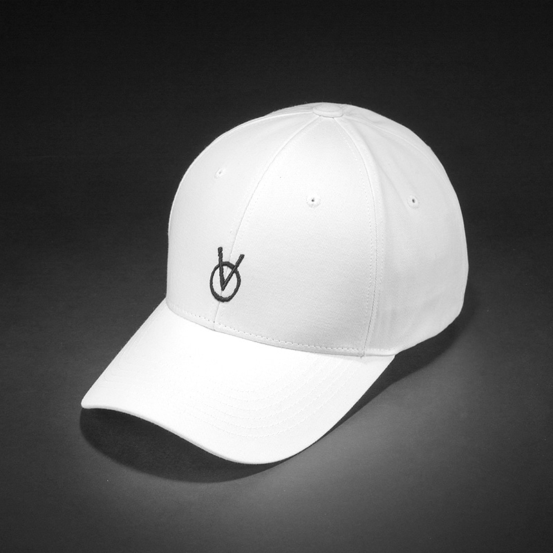 [빈스모크]VINSMOKE `OV` Small Logo BALL CAP [White]