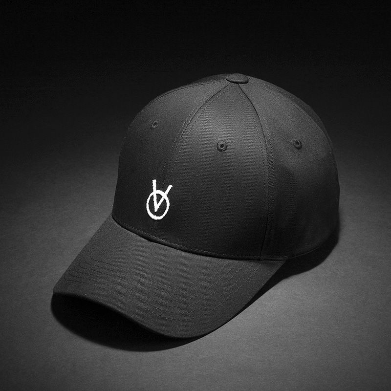 [빈스모크]VINSMOKE `OV` Small Logo BALL CAP [BLACK]