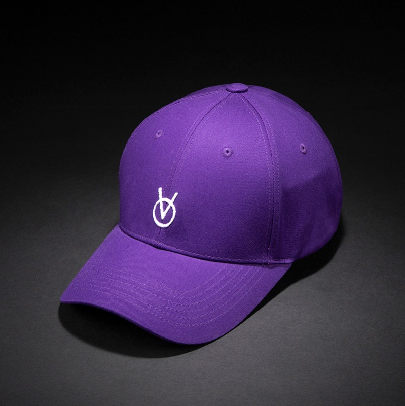 [빈스모크]VINSMOKE `OV` Small Logo BALL CAP [Purple]